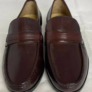 Bostonian Shoes - Bostonian Brown Leather Strap Loafers Men's 8